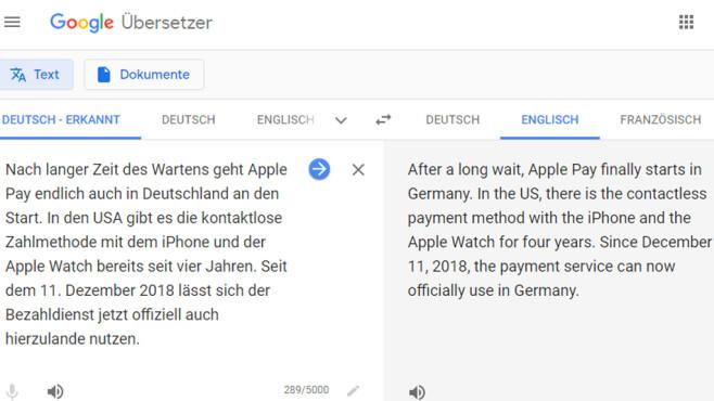 Google Übersetzer (Google Translate): Sprachbarrieren überwinden ©COMPUTER BILD