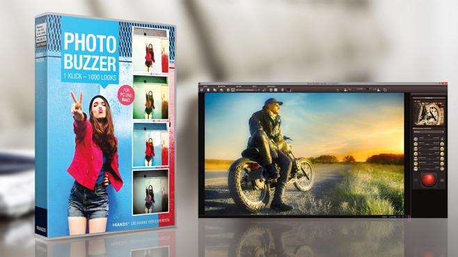 Photo BuZZer – Kostenlose Vollversion: Bilder zufällig bearbeiten©COMPUTER BILD