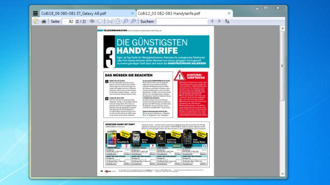 Sumatra PDF: Wenig verbreiteten PDF-Reader nutzen ©COMPUTER BILD