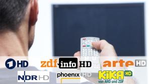Frei verfügbare HDTV-Sender©Fotostudio Pfluegl-Fotolia.com, ZDF, ARD, ARTE, Kika, Phoenix, NDR