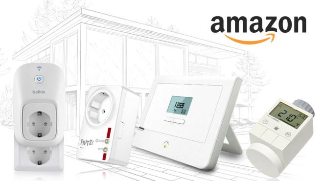 eHome-Gadgets bei Amazon©amazon, belkin, AVM, RWE, HomeMatic, alchena – Fotolia.com