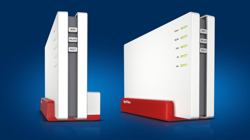 Drei neue Fritz Box-Modelle für Glasfaser, Kabel und VDSL