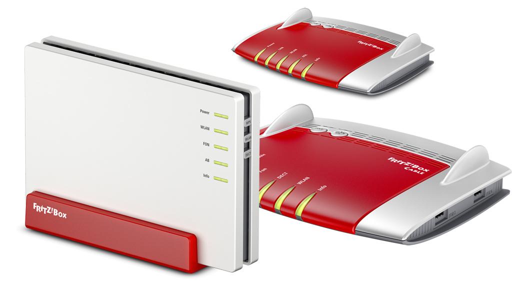 drei neue fritz box modelle f r glasfaser kabel und vdsl computer bild. Black Bedroom Furniture Sets. Home Design Ideas