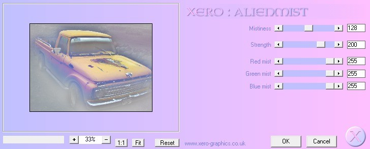 Screenshot 1 - Xero Classic Freeware Filters