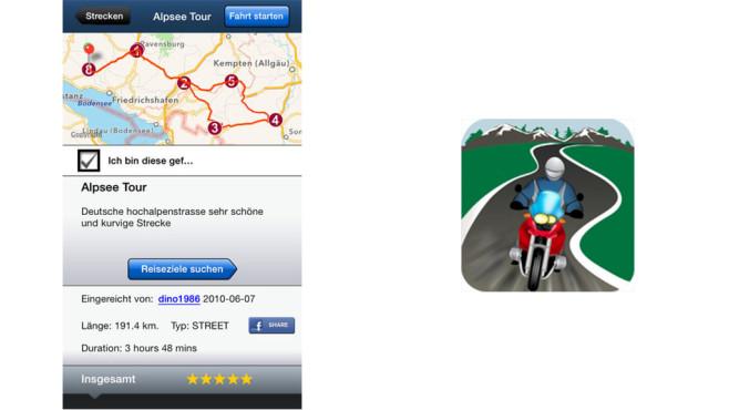 Greatest Road GPS Routen- und Straßenfinder ©SocialNav, Inc.