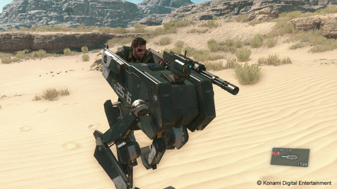 MGS 5 – The Phantom Pain: Pappkarton © Konami