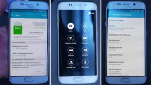 Oberfläche Samsung Galaxy S6 Edge©COMPUTER BILD
