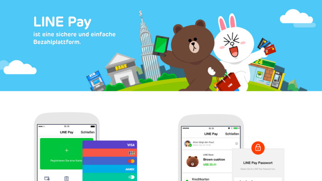 Line Pay©LINE Corporation