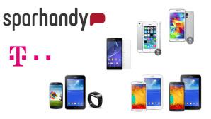 Sparhandy-Deal: Sichern Sie sich ein Top-Smartphone oder Bundle mit Allnet-Flat von Telekom zum Sparpreis©Samsung, Sony, Apple, Telekom, Sparhandy