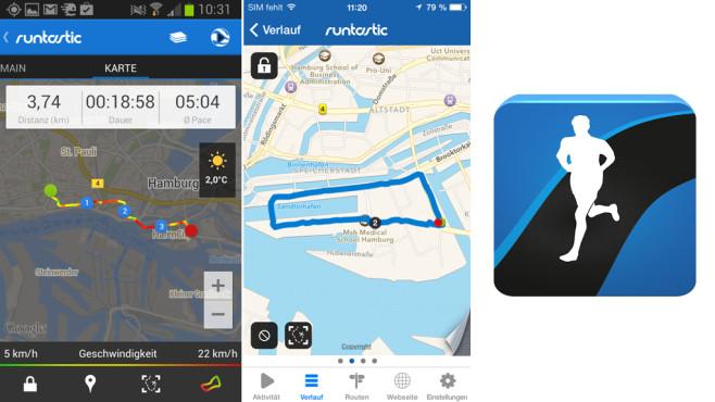 Golf Entfernungsmesser Iphone App : Lauf apps im test bilder screenshots computer bild