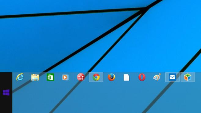 Windows 7/8: Erweiterte Taskleiste leicht bedienbar ©COMPUTER BILD