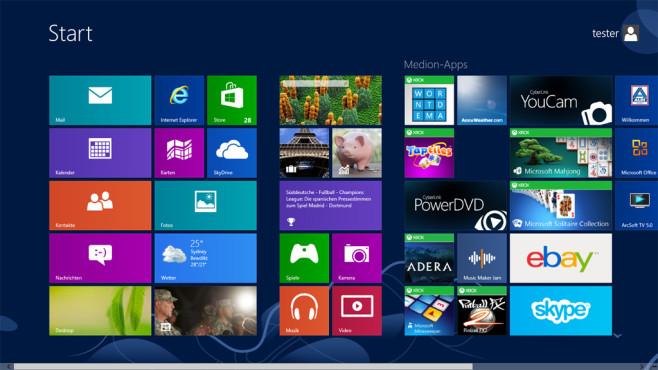 Windows 7/8: Programme, Gadgets oder Apps nutzen ©COMPUTER BILD