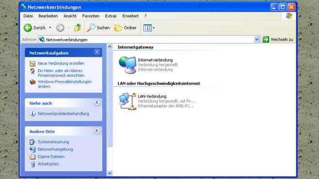 Windows XP: Komplizierte Netzwerk-Einrichtung ©COMPUTER BILD