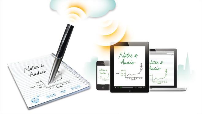 Smartpens: Digitale Notizen und Skizzen©Livescribe