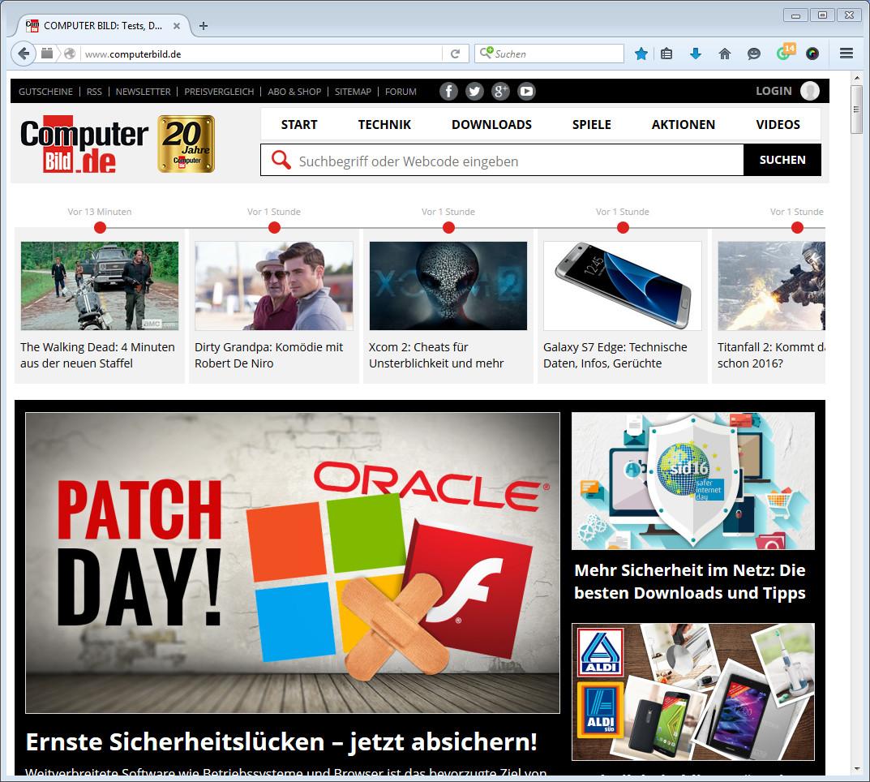 Screenshot 1 - Awesome Screenshot Plus für Firefox