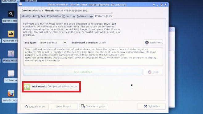 Festplatte auf Fehler überprüfen – so funktioniert es ©COMPUTER BILD