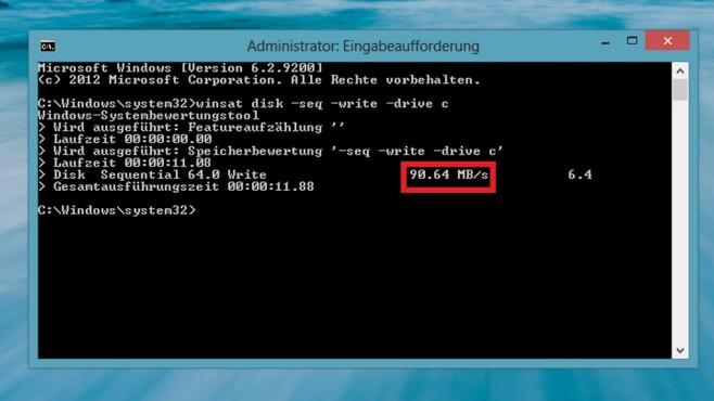 So finden Sie heraus, wie schnell Ihre Festplatte arbeitet ©COMPUTER BILD