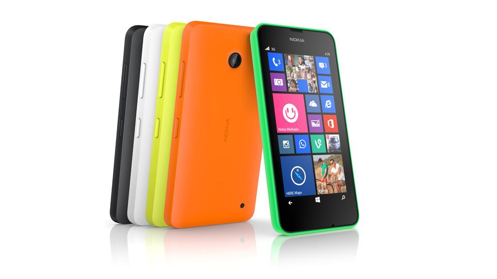 Smartphone Nokia Lumia 630©Nokia