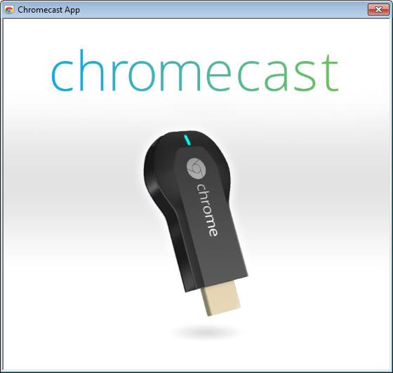 Screenshot 1 - Chromecast-App für Windows