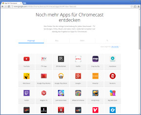 Chromecast-Apps