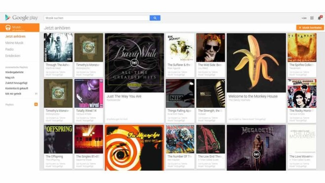 Google Play Music Streaming-Dienst©COMPUTER BILD