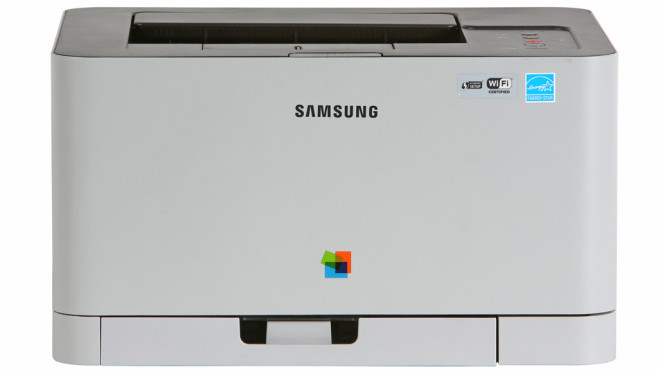 Samsung CLP-365W ©COMPUTER BILD
