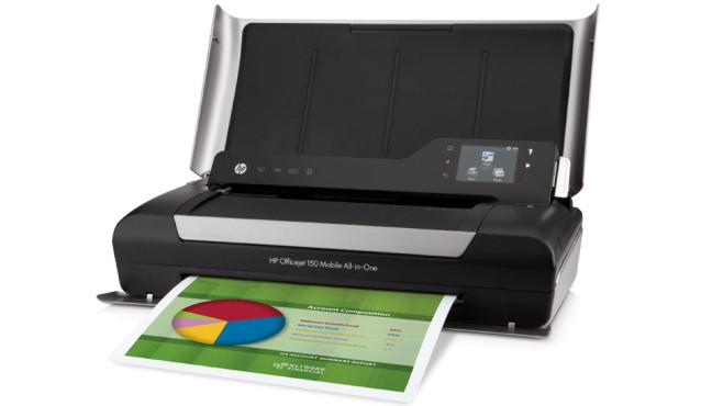 Hewlett-Packard HP OfficeJet 150 Mobile ©Hewlett-Packard