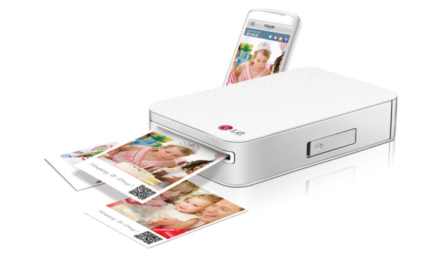 LG Pocket Photo Printer PD221 © LG