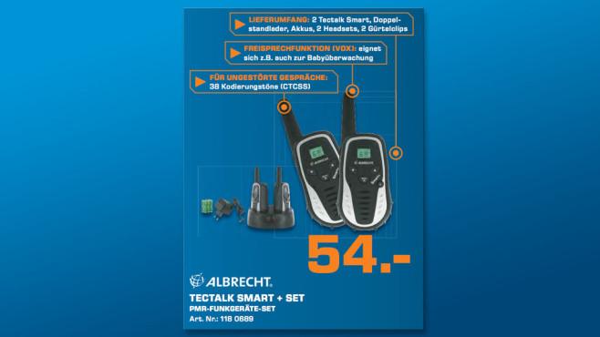Albrecht Tectalk Smart 2er Set ©Saturn
