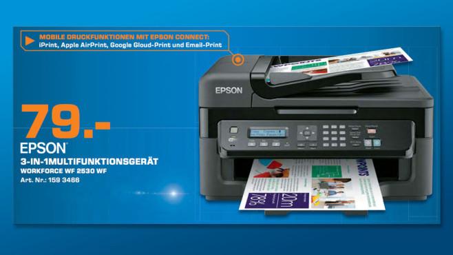 Epson WorkForce WF-2530WF ©Saturn