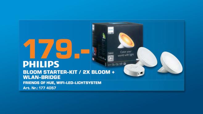 Philips Friends of Hue LivingColors Starter Kit (Set) ©Saturn