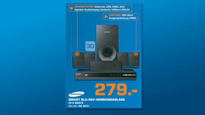 Samsung HT-H4500R ©Saturn