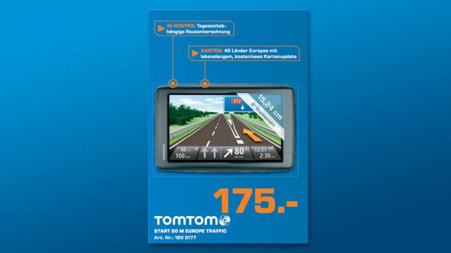 TomTom Start 60 M Europe Traffic ©Saturn