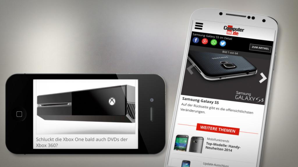 Computer Bild Verbesserte Mobile Version