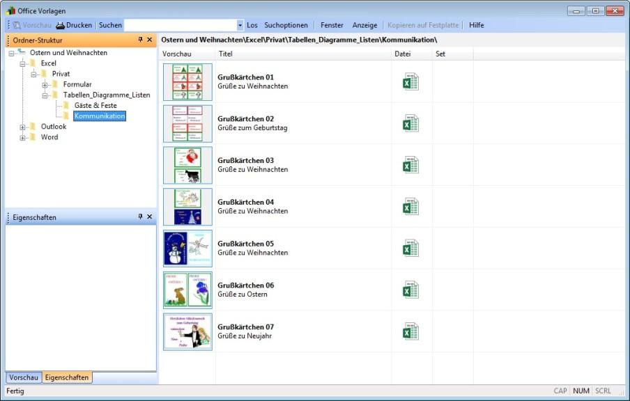 Kostenlose Word-, Office- & Outlook-Vorlagen zu Ostern - Download ...
