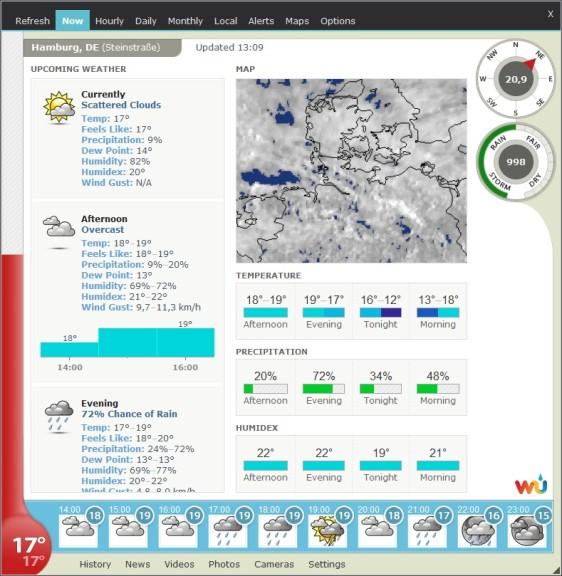 Screenshot 1 - Weather Watcher Live