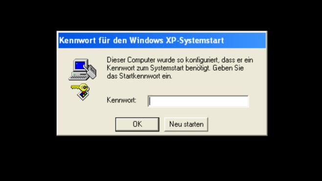 Windows 7/8/10: Syskey versieht Benutzerkonto mit zweitem Passwort Syskey ist ein historisches Windows-Bordmittel – hier ein Screenshot von Windows XP.©COMPUTER BILD