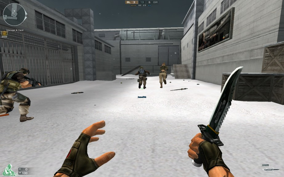 Screenshot 1 - Crossfire