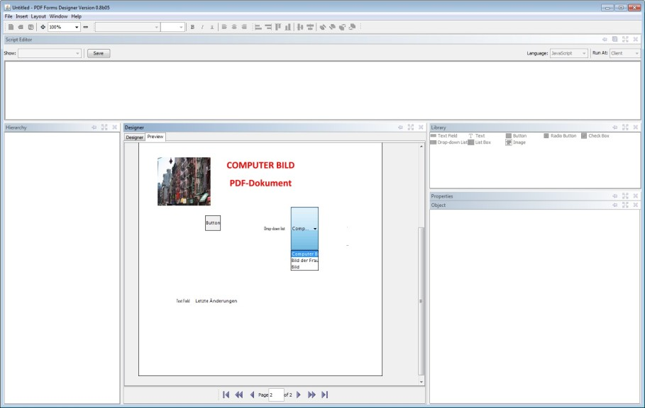 PDF Forms Designer 0.8b05 - Download - COMPUTER BILD
