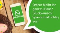 WhatsApp-Ostern: Die coolsten Sprüche zur Eierjagd©WhatsApp, maglara - Fotolia.com