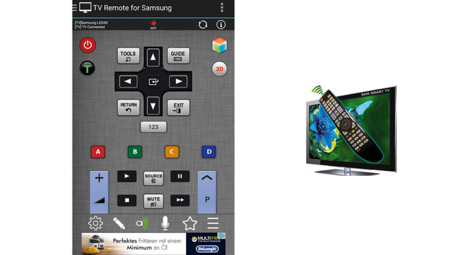 TV Remote for Samsung ©Spikes Lab
