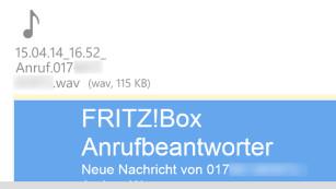 E-Mail von der Fritzbox©COMPUTER BILD