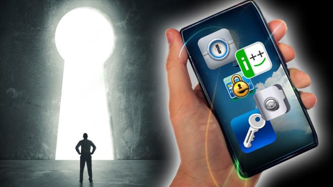COMPUTER BILD testet Passwort-Apps©alphaspirit - Fotolia.com, AgileBits Inc., Illum Software,  Fraunhofer-Gesellschaft, IBILITIES, INC., mSeven Software LLC