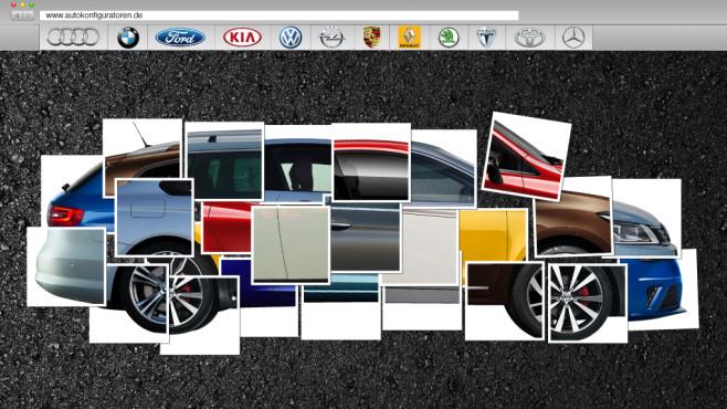 Online-Konfiguratoren: Traumautos im Baukasten-Prizip©Getty Images;COMPUTER BILD