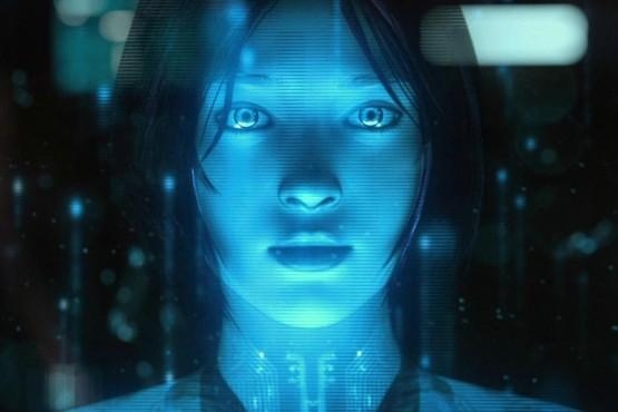 Cortana, der Charakter aus dem Spiel Halo©Microsoft