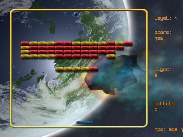 Screenshot 1 - Arkanoid++