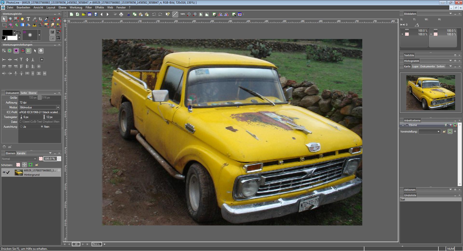 Screenshot 1 - PhotoLine