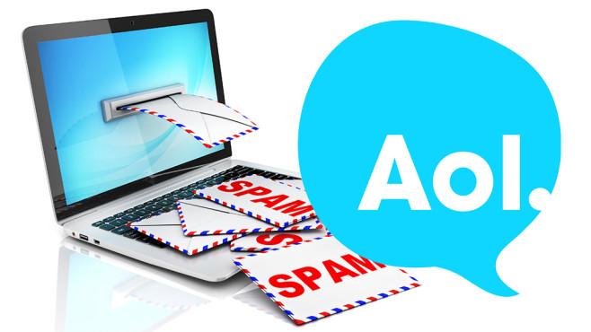 Hacker missbrauchen AOL Mail-Adressen zum Spam-Versand.©AOL, koya979 - Fotolia.com