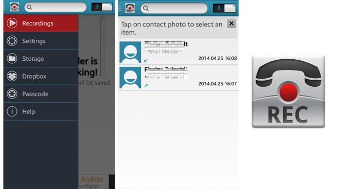Call Recorder: Aufnahmen (Recordings) ©Clever Mobile