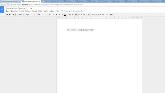 Google Docs©COMPUTER BILD